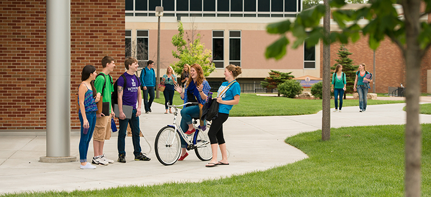 Winona State is a public university with more than 8,000 students