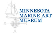 This is the logo for the Minnesota Marine Art Museum.