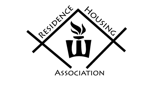 The logo for the Residence Housing Association.