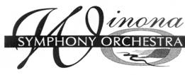 This is the logo for the Winona Symphony Orchestra.