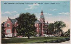 Old photo of WSU