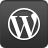 Wordpress logo and link