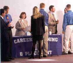 Image of booth at Career Training Day