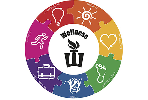 the seven dimensions of wellness Holistic wellness is a lifestyle encompassing the seven dimensions of  occupational, intellectual, emotional, spiritual, social, financial, and.